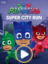 PJ Masks Super City Run Mobile Game
