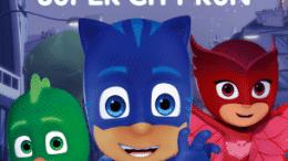 "PJ Masks Super City Run Mobile Game"" is locked PJ Masks Super City Run Mobile Game"