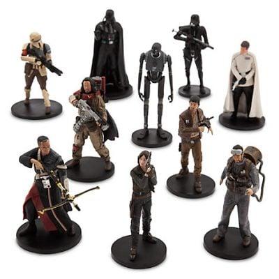 Rogue One Deluxe Figure Set (10-Piece Set)