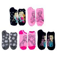 Frozen Women's No Show Socks (5-Pack)