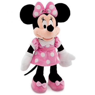 Minnie Mouse Plush Stuffed Animal (Pink)