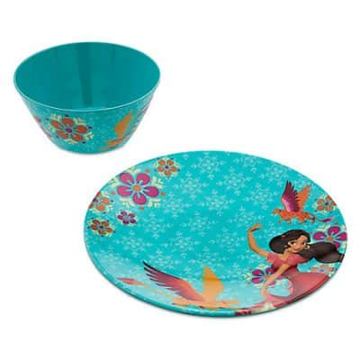 Elena of Avalor Bowl and Plate Set