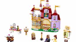 Disney Beauty and the Beast Belle's Enchanted Castle LEGO Set