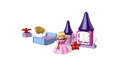 Disney Sleeping Beauty's Room LEGO Set