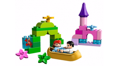 Disney The Little Mermaid Ariel's Magical Boat Ride LEGO Set
