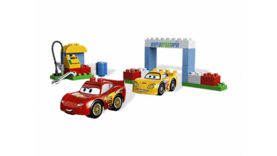 Disney Cars 2 Race Day LEGO Set