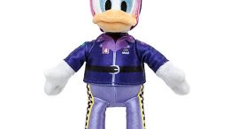 Daisy Duck Plush Stuffed Animal – Mickey and the Roadster Racers