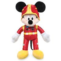 Mickey Mouse Plush Stuffed Animal - Mickey and the Roadster Racers
