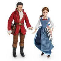 Belle & Gaston Doll Set - Beauty and the Beast Live Action
