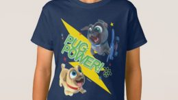 """Puppy Dog Pals T-Shirt (Pug Power)"" is locked Puppy Dog Pals T-Shirt (Pug Power)"