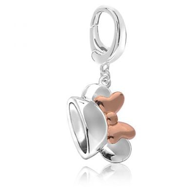 Minnie Mouse Rose Gold Ear Hat Charm – Disney Parks