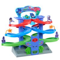PJ Masks Nighttime Adventures Spiral Playset