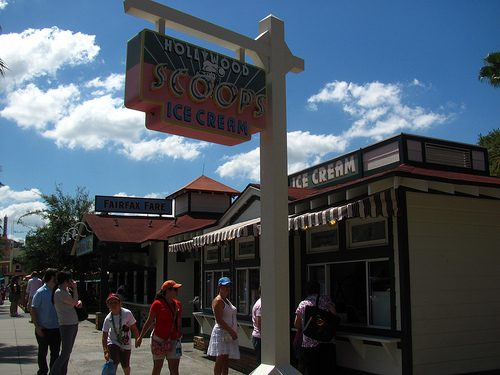 Hollywood Scoops Ice Cream reopens at Hollywood Studios
