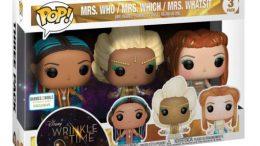A Wrinkle In Time Funko Pop 3pk