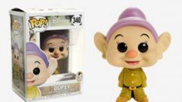 Disney Snow White And The Seven Dwarfs Dopey Vinyl Figure Funko Pop!