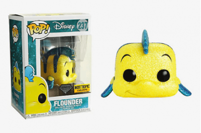 Little Mermaid Flounder Vinyl Figure – Funko Disney Diamond Collection