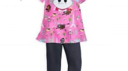 Marie Dress and Leggings Set with Headband for Girls - Disney Furrytale Friends