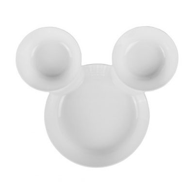 Mickey Mouse Chip and Dip Serving Tray | Disney Housewares