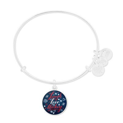 "Mickey Mouse ""Laugh Love Mickey"" Alex and Ani Bangle"