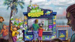 Senor Buzz Churros disney california adventure