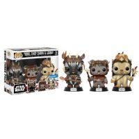 Star Wars - Ewok 3 Pack - Teebo, Chirpa, Logray Funko Pop!