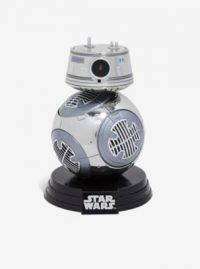 Star Wars: The Last Jedi Chrome BB-9E Vinyl Funko Pop!