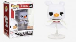 The Nightmare Before Christmas Zero Vinyl Funko Pop!
