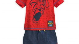Tramp T-Shirt and Shorts Set for Boys - Disney Furrytale friends