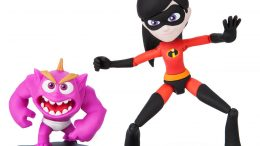 Violet and Jack-Jack Action Figures