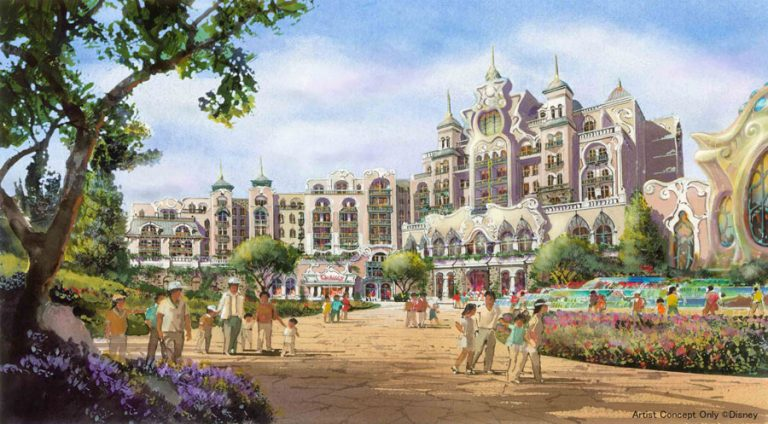 new disneysea hotel