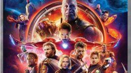 Avengers Infinity War DVD and Blu-Ray