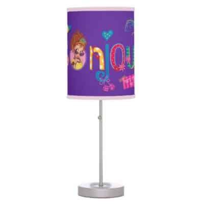 Fancy Nancy Desk Lamp | That's French for Hello