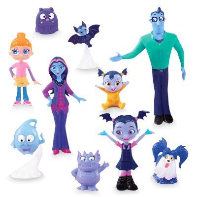 Vampirina and Friends Figure Play Set (10 Pieces)