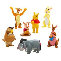 Winnie the Pooh Figure Play Set (7 Piece)