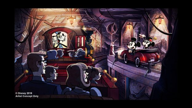 Mickey & Minnie's Runaway Railway (Disney World)