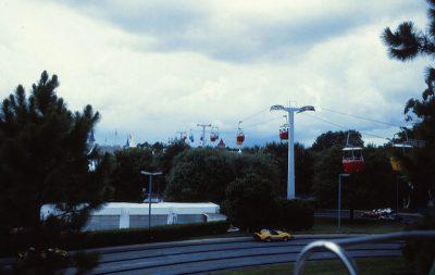 Walt Disney World Skyway | Extinct Disney World Attractions