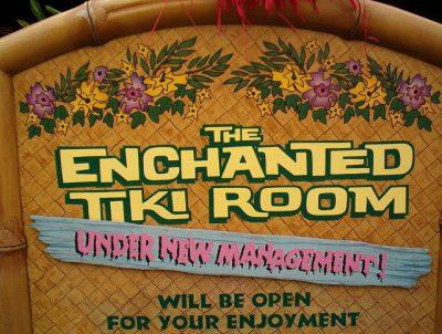 The Enchanted Tiki Room (Under New Management) – Extinct Disney World