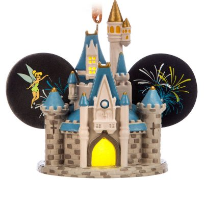 Cinderella Castle Ear Hat Ornament – Walt Disney World