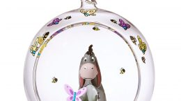 Eeyore Glass Globe Sketchbook Christmas Ornament