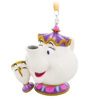 Mrs. Potts and Chip Christmas Ornament - Beauty and the Beast