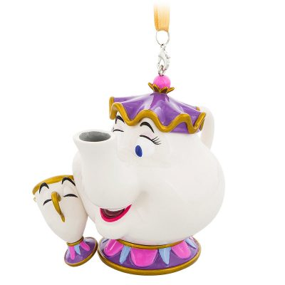 Mrs. Potts and Chip Christmas Ornament – Beauty and the Beast