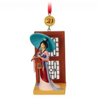 Mulan Legacy Sketchbook Christmas Ornament