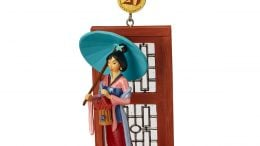 Mulan Legacy Sketchbook Christmas Ornament