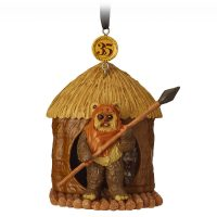 Wicket Ewok Sketchbook Christmas Ornament