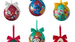 World of Disney Ball Christmas Ornament Set