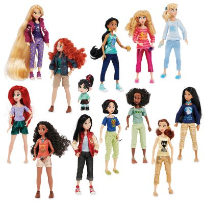 Vanellope with Princesses from Ralph Breaks the Internet Doll Set