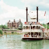 Admiral Joe Fowler Riverboat - Extinct Disney World Attractions