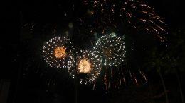 DIsney World New Years Eve fireworks