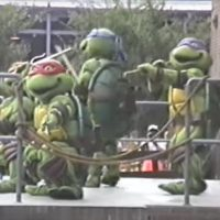 Teenage Mutant Ninja Turtles - Extinct Disney World Show