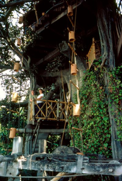 Swiss Family Treehouse – Extinct Disneyland Attractions